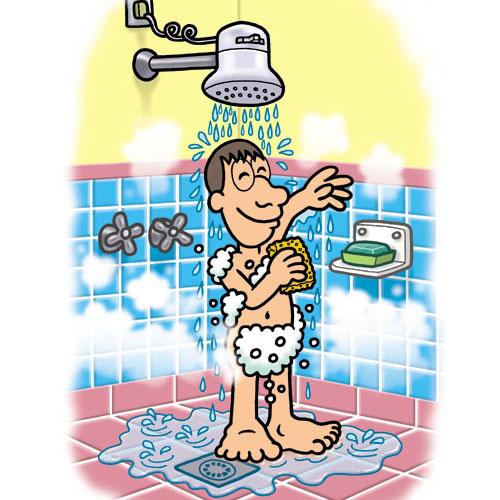 Imagenes De Tomar Un Baño:Imagenes De Higiene Personal